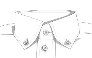 Button-Down-Kragen