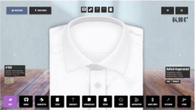 Der neue hemdwerk® Hemdendesigner