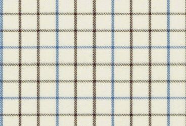 Cream double checkered