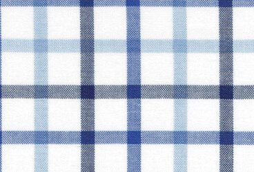 Blue black double checkered