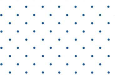 Weiss Dunkelblau Punkte