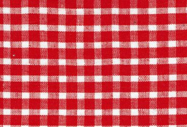 Linen red checkered