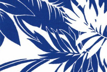 Popeline Hawaii Blau