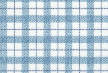 Blue checkered brushed