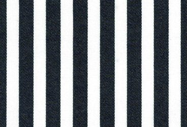 Black big striped