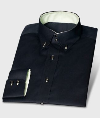 Black Shirt with Modern Contrasting Colors