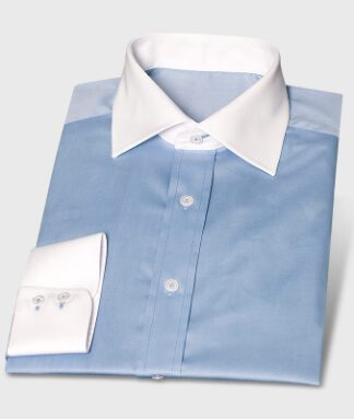 Blue Easy-Care Business Shirt