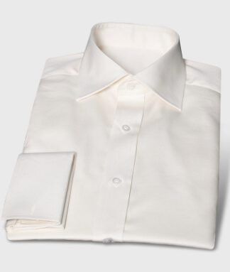 Elegant Festive Shirt Cream