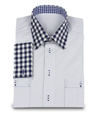 Designer Shirt with Checks Application