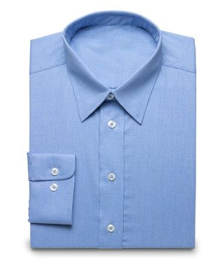 Elegant shirt with buttonunder collar