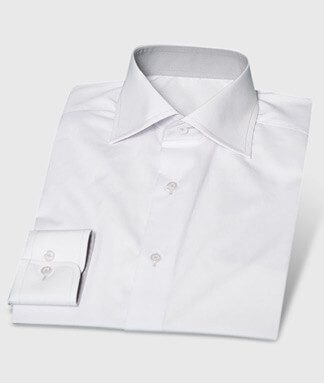 White Standard Shirt with Subtle Customization