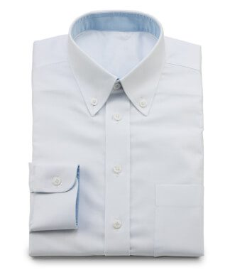 Oxford shirt white for work and leisure