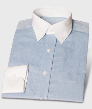 Comfortable Business Shirt Mediumblue