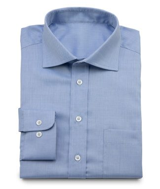 Blue Business twill shirt
