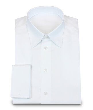 Elegant Custom 2-ply Custom Made Shirt with French Cuff