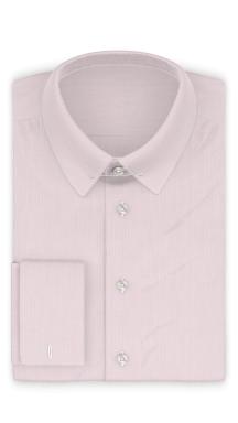 Vollzwirn Twill Rosa Festliches Hemd