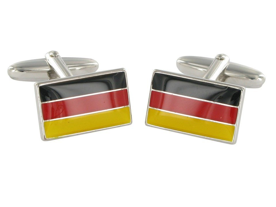 Cuff-links german flag 18007