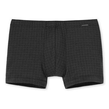 Shorts schwarz gemustert