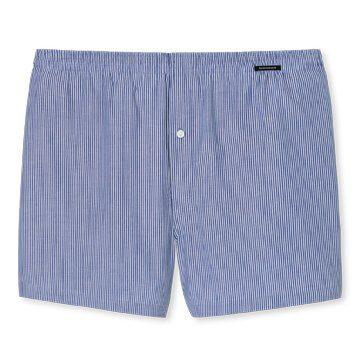 Boxershorts blau-weiß gestreift